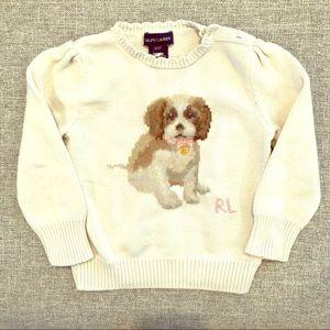 Toddler Girls Size 3 Ralph Lauren Sweater